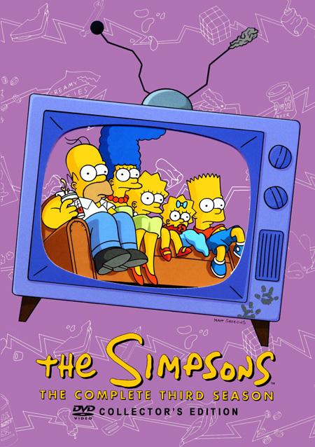 The Simpsons Season 3 : เดอะ ซิมป์สันส์ ปี 3 (DVD มาสเตอร์ 4 แผ่นจบ+แถมปกฟรี)