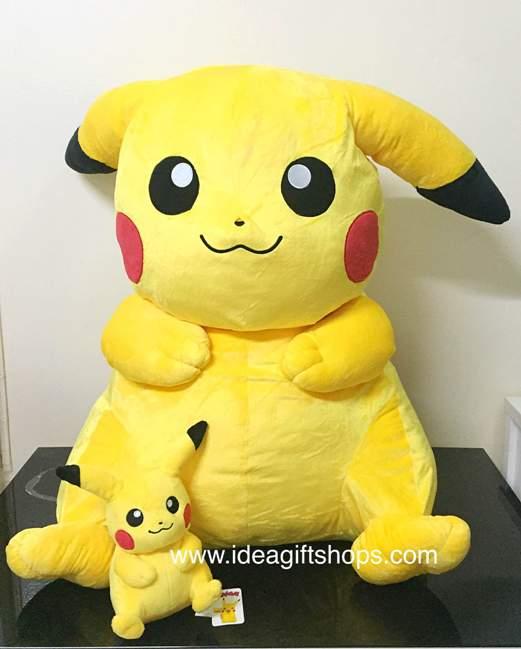 ตุ๊กตาปิกะจู Pikachu ขนาดใหญ่ 36 นิ้ว ราคาถูก Pokemon GO