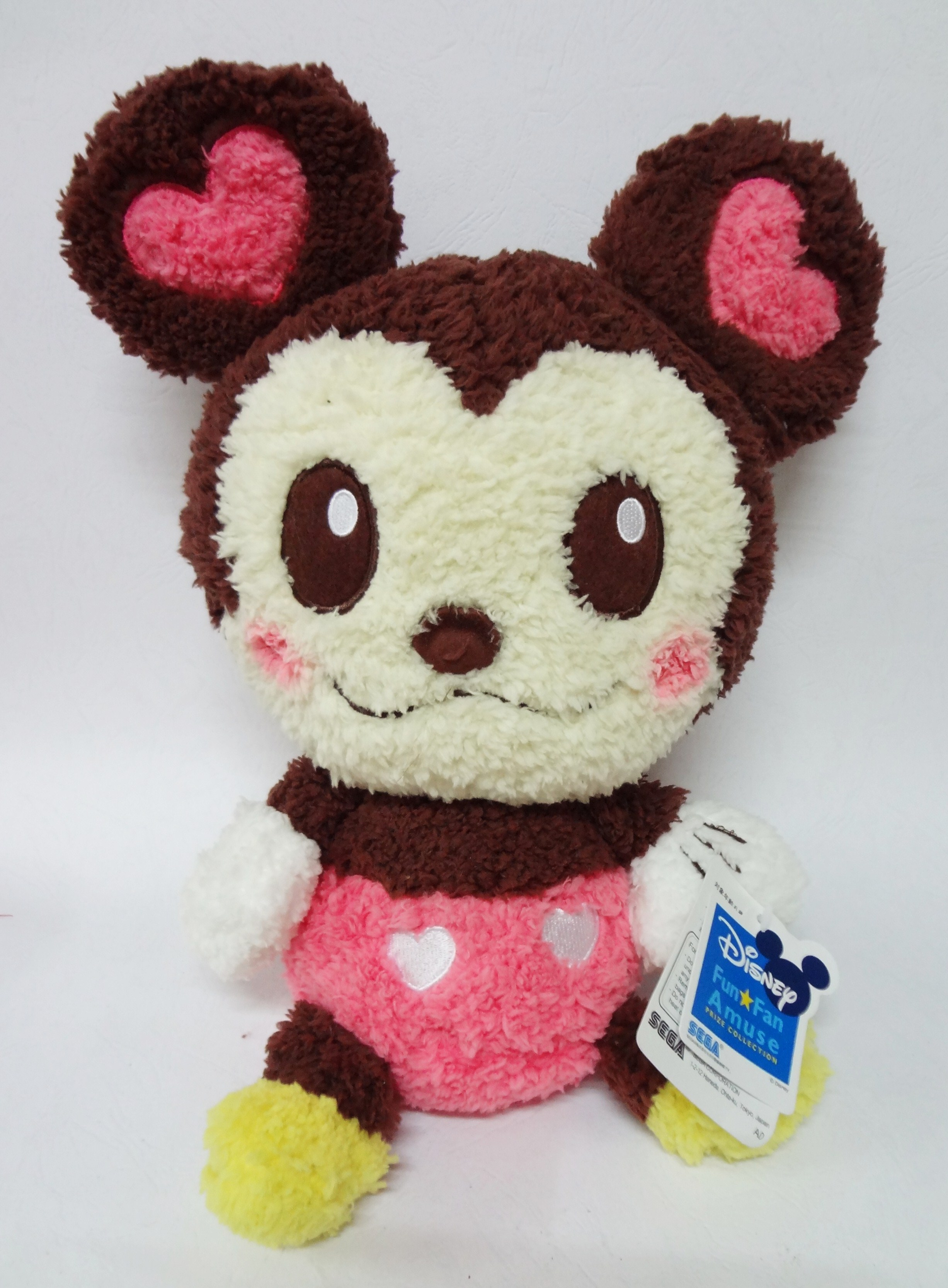 ตุ๊กตา Minnie Mouse - Disney Fun*Fan Amuse Prize Collection