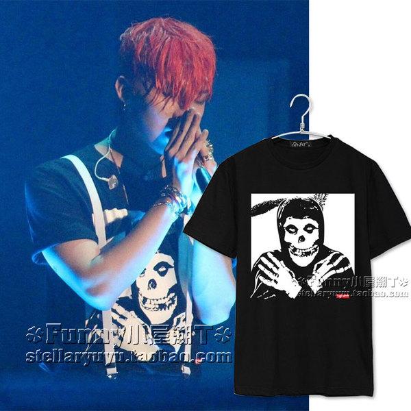 เสื้อยืด Supreme Sty.G-Dragon -ระบุสี/ไซต์-