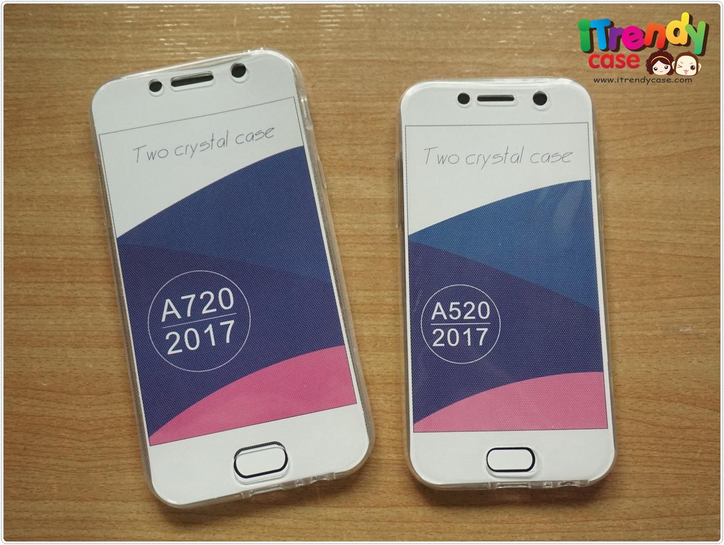 Samsung A5 2017 - เคสใส ประกบ TPU