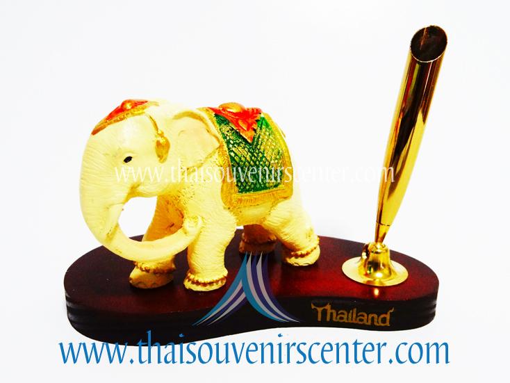 ช้างทรงเครื่องกับที่เสียบปากกา (Pre-Order คละแบบช้าง)