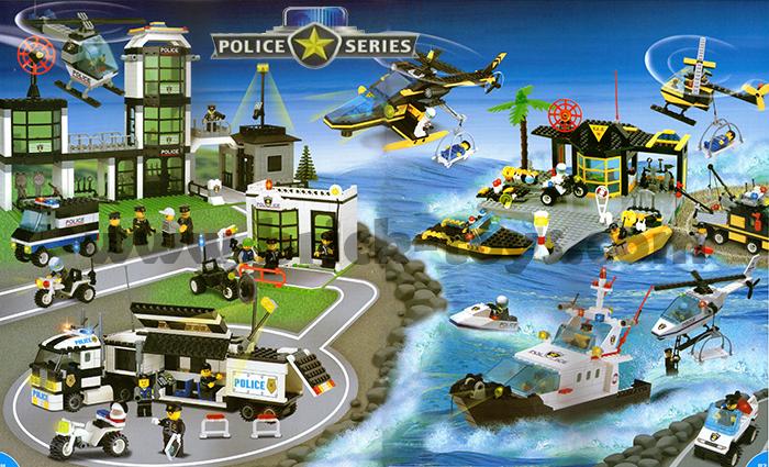 เลโก้ ชุดตำรวจ
