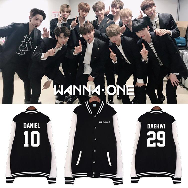 Jacket Basketball WANNA ONE 1st Name member -ระบุสี/ไซต์-