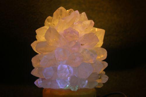โคมไฟคริสตัลควอตซ์ (Crystal Quartz)