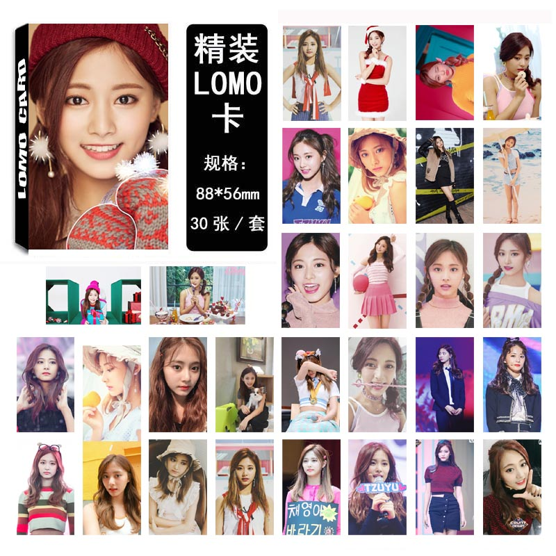 Lomo card set TWICE - Tzuyu 03 (30pc)
