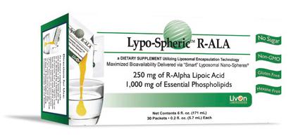 Lypo-Spheric R-Alpha lipoic Acid ที่ดีที่สุด R-ALA เร่งขาว ต่อต้านอนุมูลอิสระ และเป็นอาหารเสริมที่ประโยชน์เยอะมากๆ
