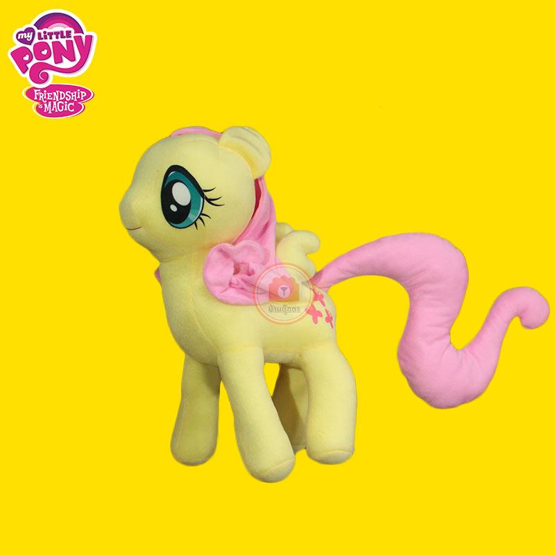 ตุ๊กตาม้าโพนี่ pony สีเหลือง ลิขสิทธิ์แท้