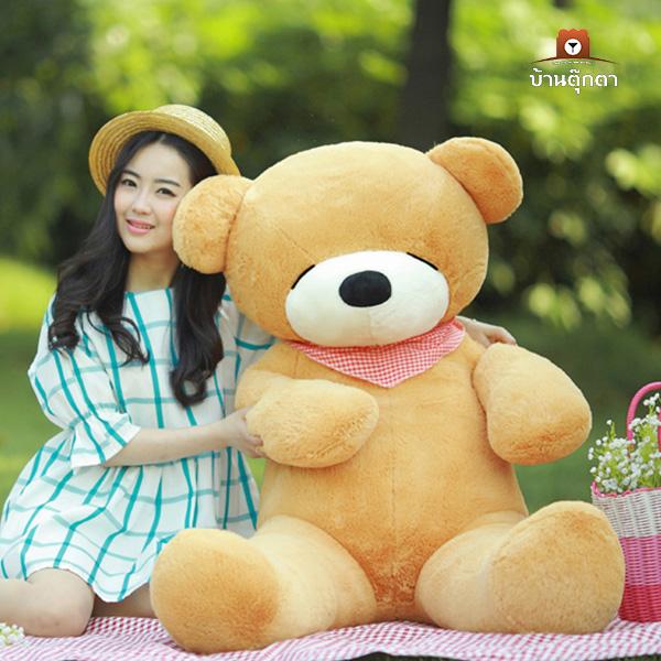 ตุ๊กตาหมีหลับ ขนาด 160 CM. (สินค้าขายดี)