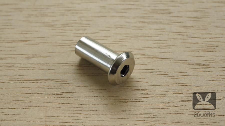 ปลอกตัวเมีย M8x22 mm ถุงละ 10 ตัว