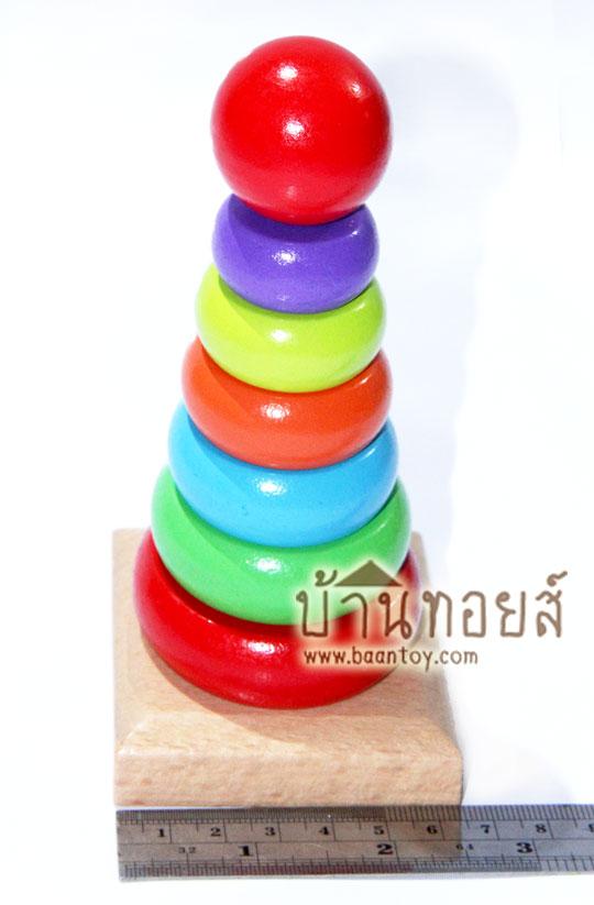 บล็อคไม้ของเล่น ของเล่นเสริมพัฒนาการ ของเล่นเด็ก
