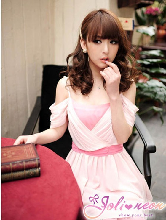 Party Dress in Pink