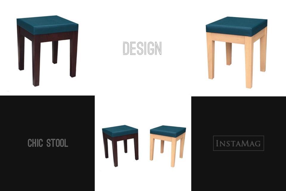 เก้าอี้สตูลมีเบาะ ดีไซน์น่ารัก สำหรับร้านอาหาร ร้านกาแฟ