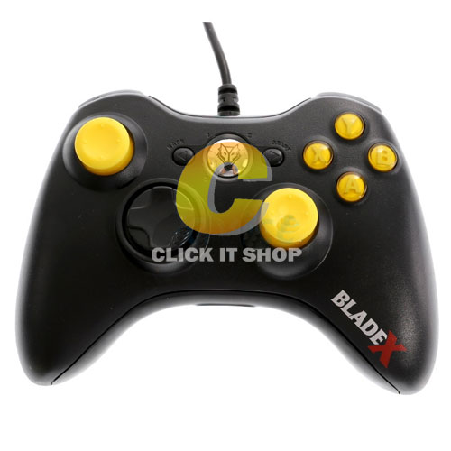 JoyStick Analog 'NUBWO' NJ-34 (Black/Yellow)
