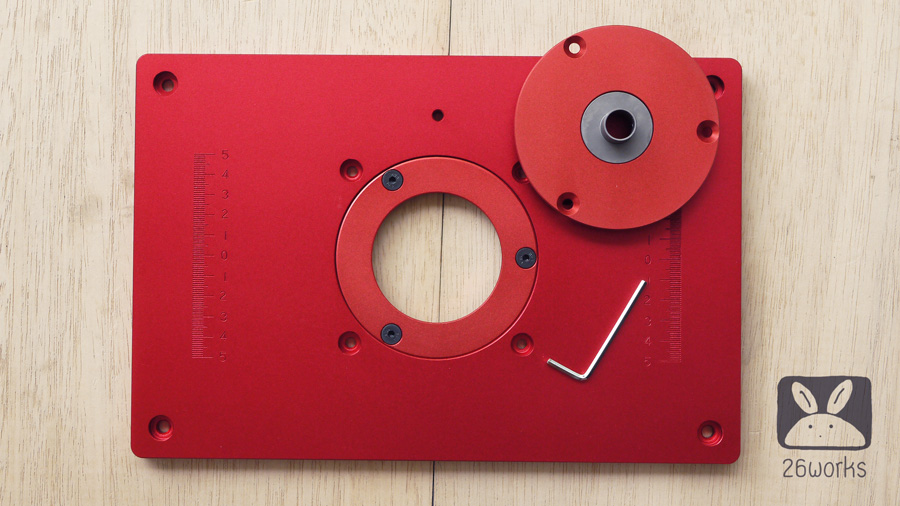 Router plate 30x20 cm หนา 10 mm