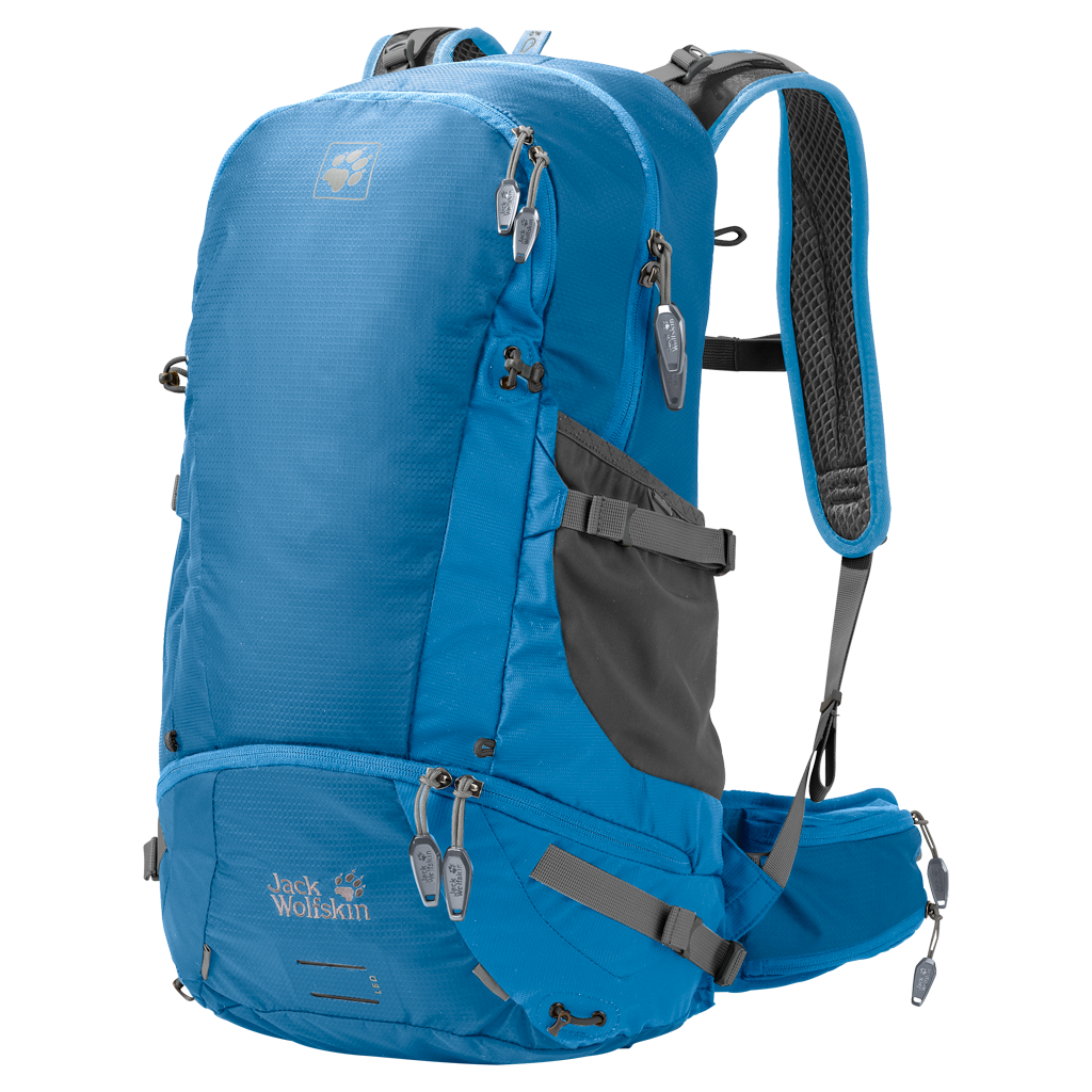 Jack Wolf skin - MOAB JAM 34 L ใหม่ ปี 2017 (สีฟ้าเข้มล้วน)
