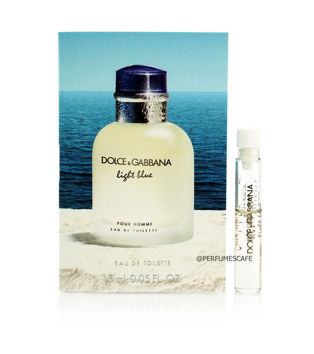 น้ำหอม Dolce & Gabbana Light Blue Pour Homme ขนาดทดลอง 1.5ml