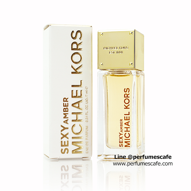 น้ำหอม Michael Kors Sexy Amber Eau De Parfum ขนาด 7ml. แบบแต้ม