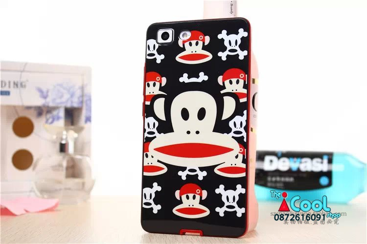 เคส OPPO R5 - Cartoon Silicone Case[Pre-Order]