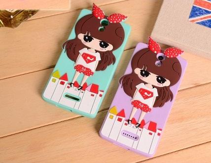 Oppo Mirror3- Girl silicone Case[Pre-Order]