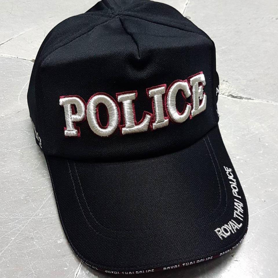 หมวกแก็ป POLICE ใหญ่