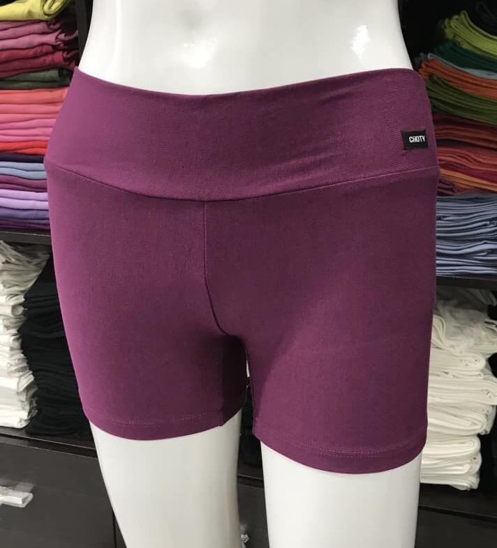 ซับในกางเกงขาสั้น สีเปลือกมังคุดอ่อน