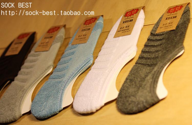 S580 **พร้อมส่ง** (ปลีก+ส่ง) ถุงเท้าแฟชั่นหญิง+ชาย ข้อกุด พื้นขนหนู มีซิลิโคนกันหลุด คละ5 สี เนื้อดี งานนำเข้า มี 10 คู่ต่อแพ็ค