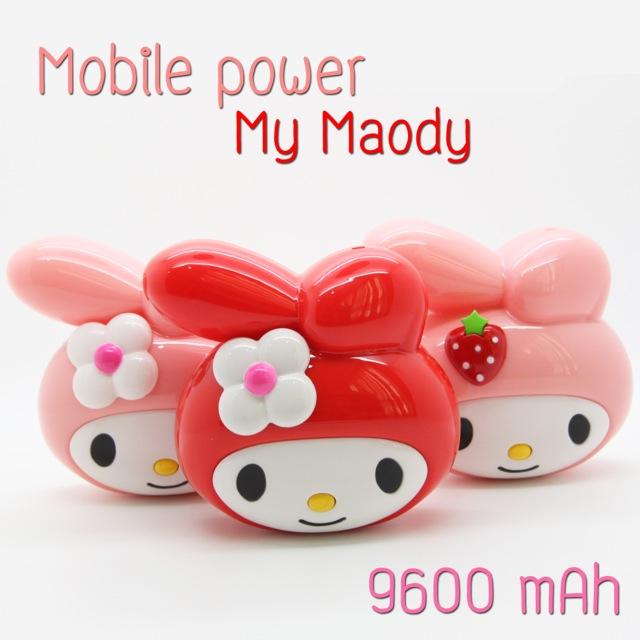 Power Bank แบตสำรอง My Maody 9600 mAh