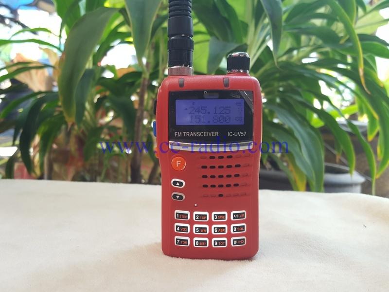 IC-UV57 แดง 2 ย่าน VHF/CB