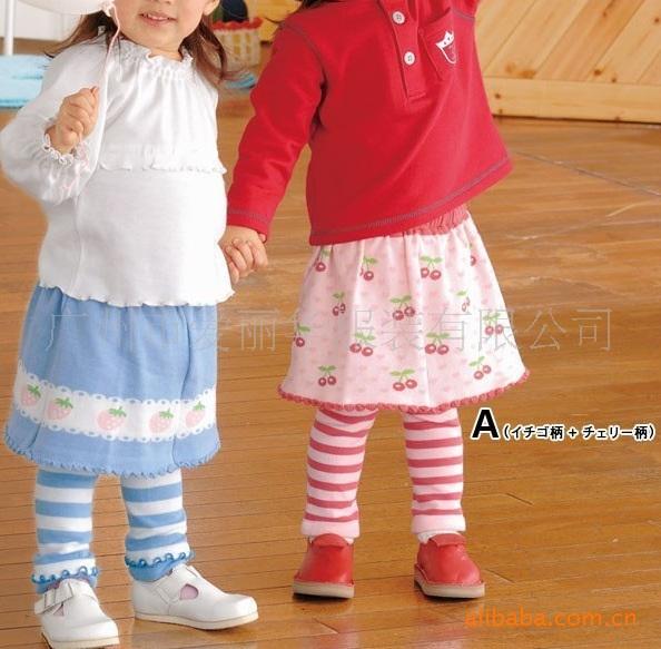X008**พร้อมส่ง** (ปลีก+ส่ง) เลคกิ้ง กระโปรง เด็กหญิง วัย 1 -3 ปี แฟชั่นเกาหลี แพ็ค 6 ตัว เนื้อดี งานนำเข้า(Made in China)