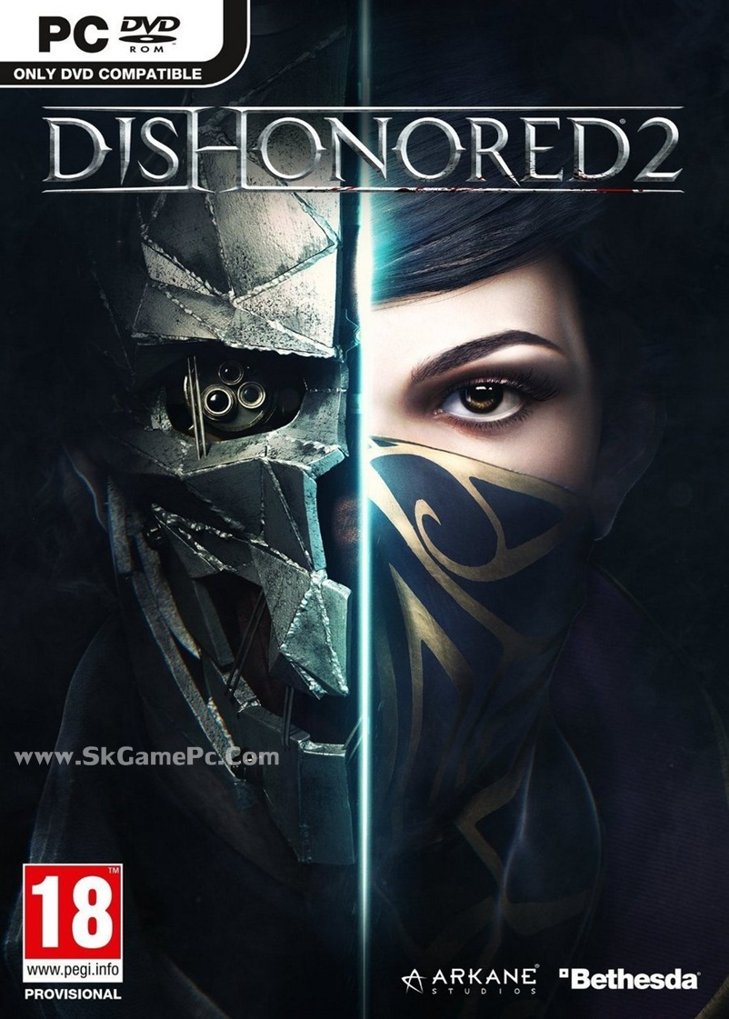 Dishonored 2 ( 9 DVD )