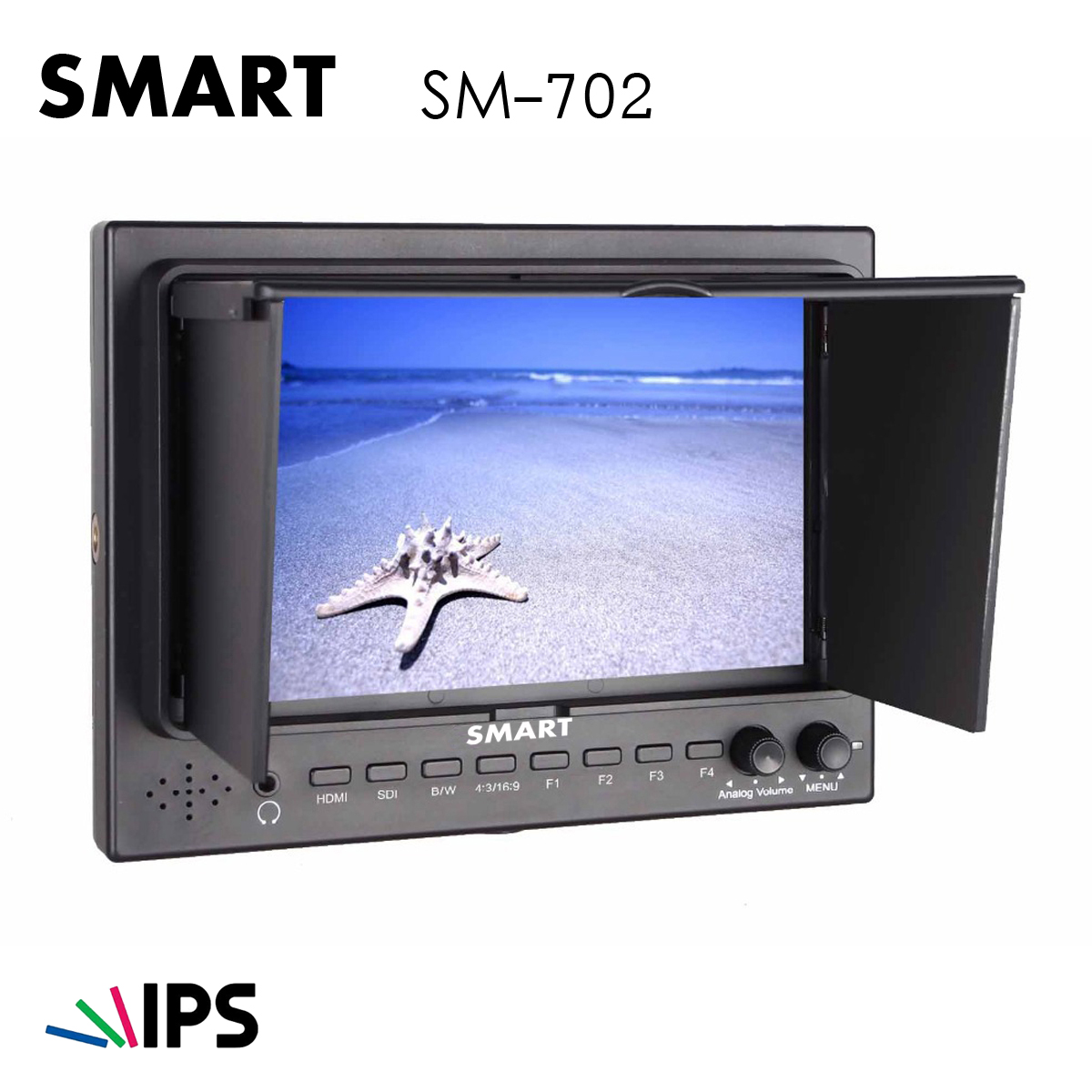 "SMART SM702 HDMI/SDI 7"" IPS Monitor"