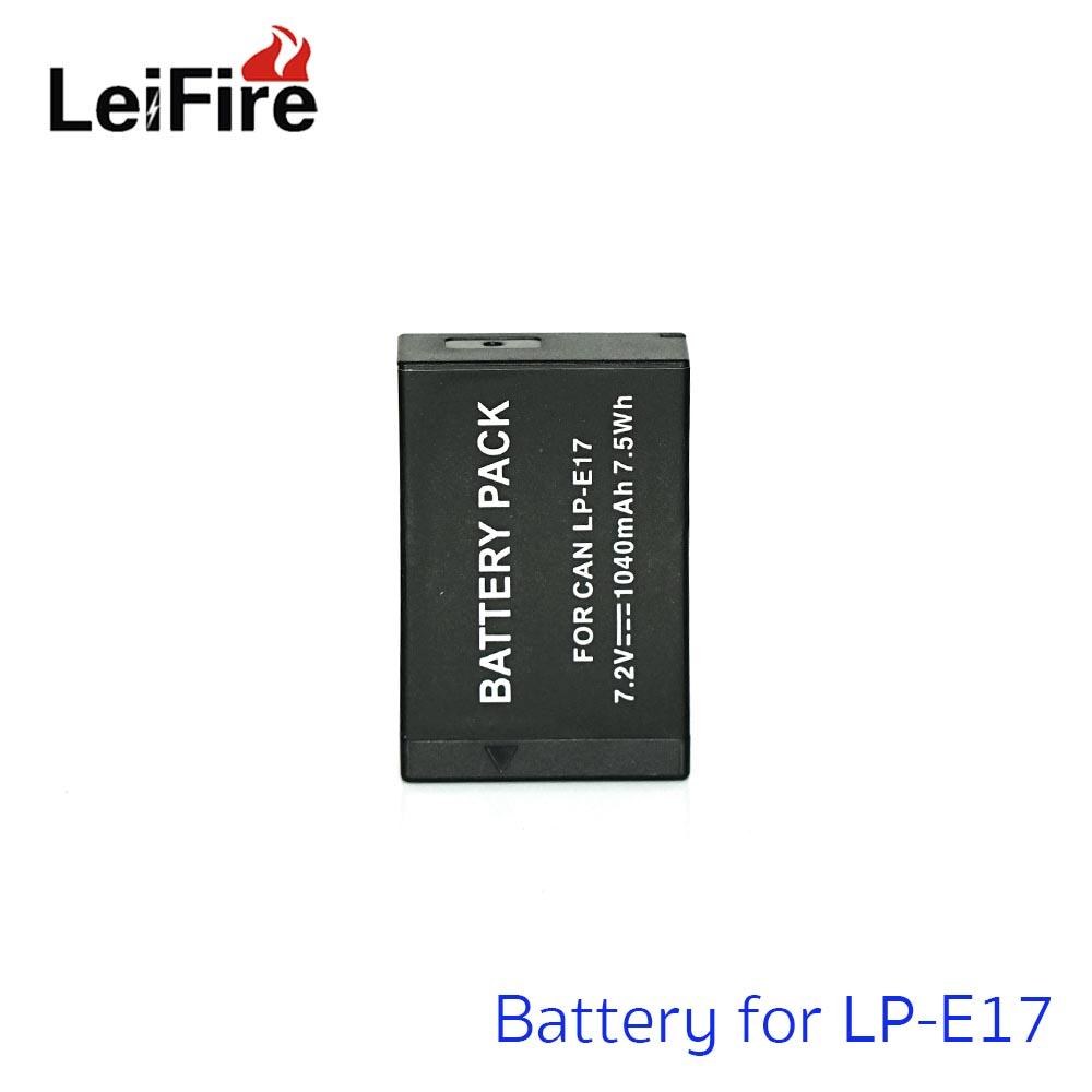 Battery LeiFire For Canon LP-E17