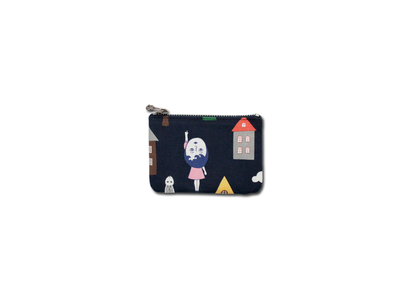 HOME OF MY HEART COATED POUCH S