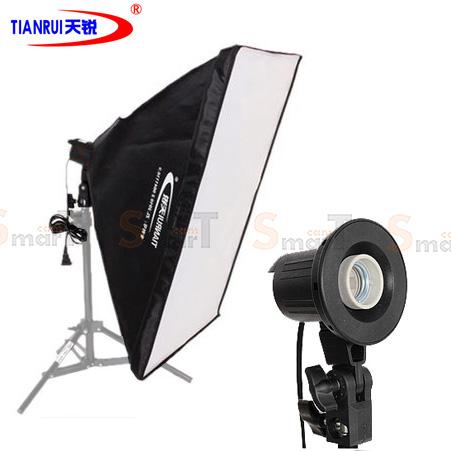 TIANRUI Lighting E27 One Bulb Holder With Softbox 50x70cm
