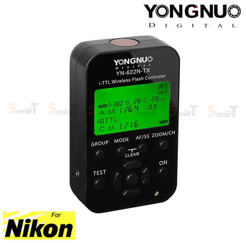 Flash Trigger YN-622N TX Youngnuo for Nikon Auto i-TTL II ตัวสั่งงานแฟลชไร้สาย