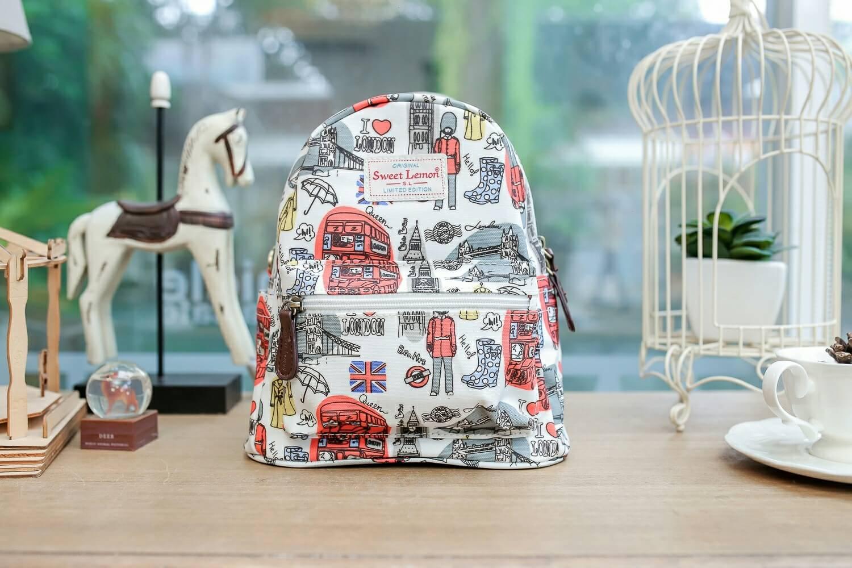 กระเป๋าเป้ +สะพาย เนื้อด้าน