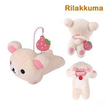 ตุ๊กตาเข็มกลัด Korilakkuma Plush Doll Pin