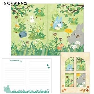 การ์ดจดหมาย My Neighbor Totoro